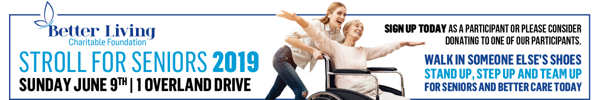 Stroll for Seniors 2019 - Sunday June 9th
