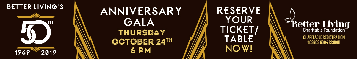 50th Anniversary Gala - Reserve your ticket / table now!