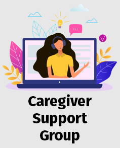 Caregiver Support Group button