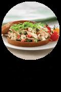 Greek-style chicken sandwiches Button