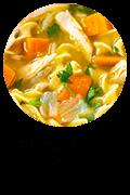 Chicken Noodle Soup Button