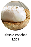 Classic Poached Eggs Button